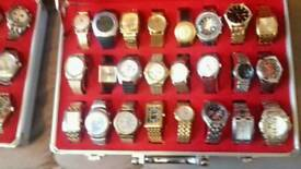 Box of assorted watches