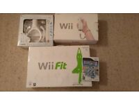 Nintendo Wii/Wii Fit & Extras