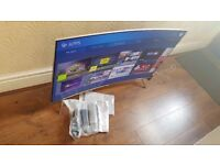 BOXED SAMSUNG 49-inch CURVED SUPER Smart QUANTUM DOT DISPLAY 4K SUHD LED TV-49KS7500,built in Wifi