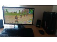 alienware x51 r2 gaming pc full set up
