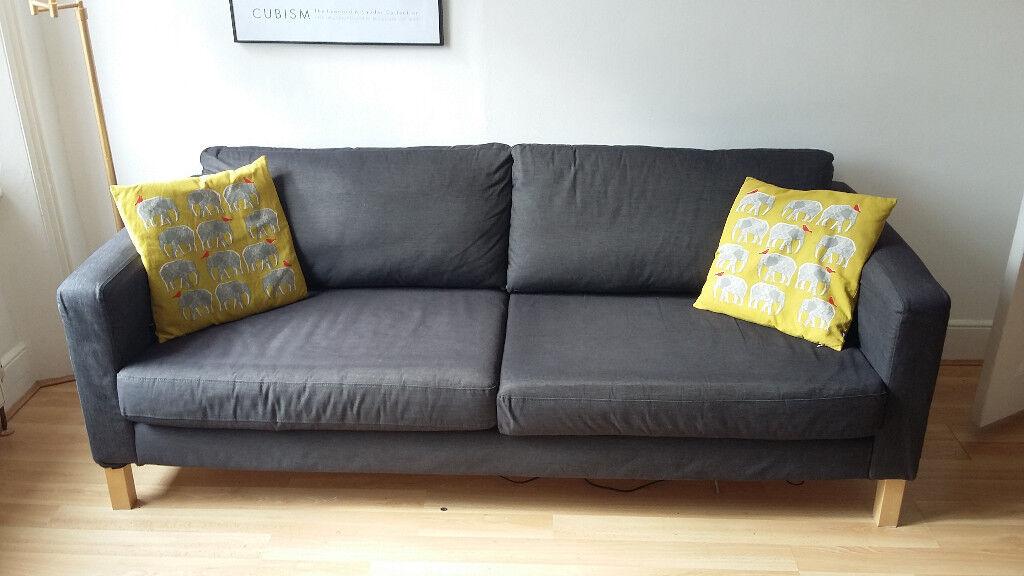 ikea karlstad 34 seater sofa for sale  in maida vale