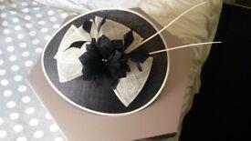 richard designs wedding hat