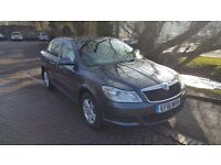 skoda octavia green line . first reg DEC 2011 . london PCO vehicle licensed . price 4200.