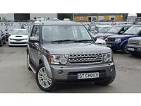 LAND ROVER DISCOVERY 4 TDV6 HSE JUST 59000 MILES AND 2 OWNERS FULL HISTORY (grey) 2010