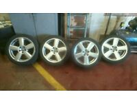 18inch audi rs6 alloys for sale