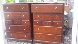 3 Stag minstrel chest of drawers for quick sale