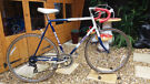 Men's vintage Raleigh winner road bike