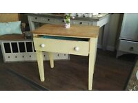 Rustic painted kitchen cabinet