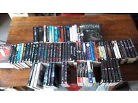 Over 80 books, all used but great condition, various authors and series. Collection or pay for post
