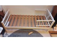 White Toddler/junior bed by Saplings of Shropshire