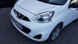 Nissan MICRA, Petrol, 2014, white, for SALE