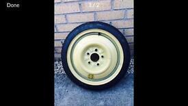 Mazda 6 space sever spare wheel