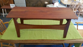 1970's Retro Teak and Afromosia Coffee Table
