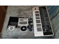 For Sale: Roland Gaia SH-01 Synthesizer. Power supply, booklets and discs included.