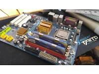 Motherboard + cpu + memory bundle