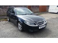 Saab 9-5 linear estate auto 1.9 tid 150