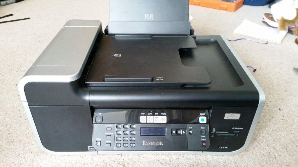 Lexmark x6690 wireless printer scanner copier in aberdeen lexmark x6690 wireless printer scanner copier reheart Choice Image