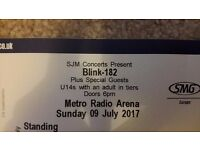 1x Standing Blink-182 Ticket for Newcastle **TAKING OFFERS**