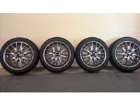 Mini John Cooper Works R56 17 Inch Wheels & Winter Tyres x4