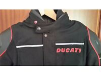 Mens Dainese Ducati streetfighter jacket.