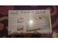 Summer Grow with me Bedrail white