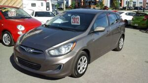 2012 Hyundai Accent GL, CRUISE, AIR CLIME, 6 VITESSES