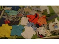 boys 9-12 month clothes bundle including Ralph Lauren t.shirts