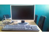 DELL Computer keyboard and LG 20in Monitor
