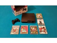 Playstation 3 Slim Bundle with Box