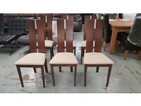 NEW Julian Bowen Cayman Dining Chairs £30 Each (18 Chairs Available) **CAN DELIVER**