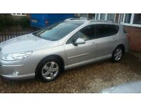 Peugeot 407sw SE Estate - Only 73,000 Miles - Full Glass Roof - VGC In and Out - 1st To See Will Buy
