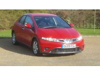 HONDA CIVIC SE CTDI 09PLATE 2009 FACELIFT 2P/OWNER 102000 MILES FULL SERVICE HISTORY AC ALLOY 6SPEED