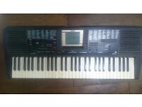 Yamah PSR 330 electric keyboard with MIDI and multitracking