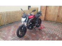 2014 Yamaha MT-125 / Non-ABS / Anodized Red