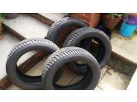 Michelin Alpin A4 Winter Tyres 225/45/R17
