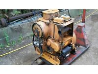Hatz 2 cylinder 2L40 diesel engine with silent packGWO,Electric start.Can see running
