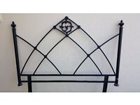 Gothic Metal headboard - for Double Bed