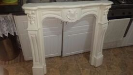 Fire place frame. Heavy duty good quality, used but if repainted could serve for years. £30 o.n.o