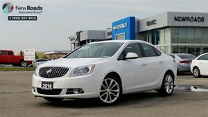 2014 Buick Verano ONE OWNER, NO ACCIDENT, ALLOYS, BACK UP CAM