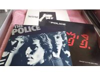 Vinyl albums - U2 - Sting - The Police