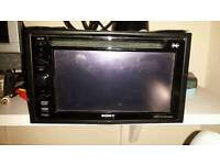 Sony double din car dvd player