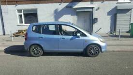 Honda jazz 1.3 litre Automatic spares or repairs