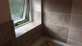 Tiling and bathroom fitting