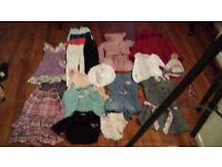 KIDS CHILDREN GIRLS BUNDLE OF CLOTHES x 19 MONSOON GAP H&M HELLO KITTY COAT DRESS JEANS 2 - 3 YEARS