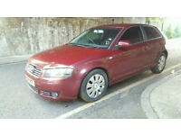 Audi A3, Petrol, 2004, red, for SALE
