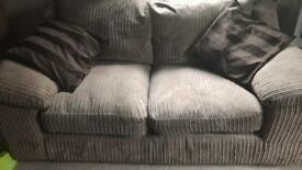 Sofa and 2x armchairs