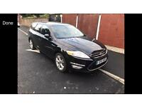 2011 11reg Ford Mondeo 2.0Tdci Titanium Estate Black Face Lift