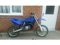 Yamaha YZ85 motocross bike