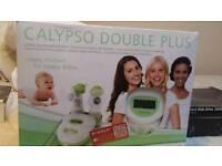 Double breastfeeding pump calypso