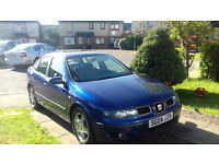 SEAT TOLEDO V5 SAT NAV FULL ELECTRICS HALF LEATHER SEATS NEW TYRES AND BRAKES INCLUDING CALIPER.
